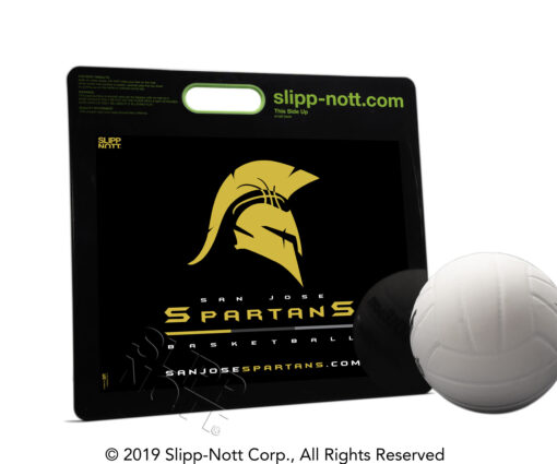 Example of a Custom Logo on a Small Sports Traction Base