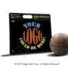 Slipp-Nott Small Custom Basketball Traction Base