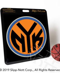 NY Knicks Logo on Large Custom Traction Base