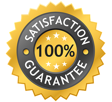 100% Satisfaction Guarantee on Our Products