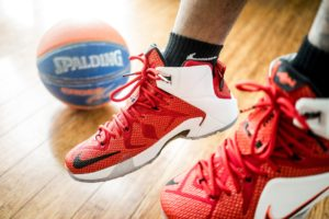 basketball shoe traction
