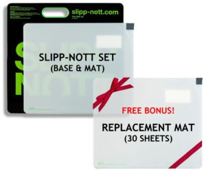 Buy a Small Slipp-Nott Set, Get a FREE Replacement Sheet, Limited Time
